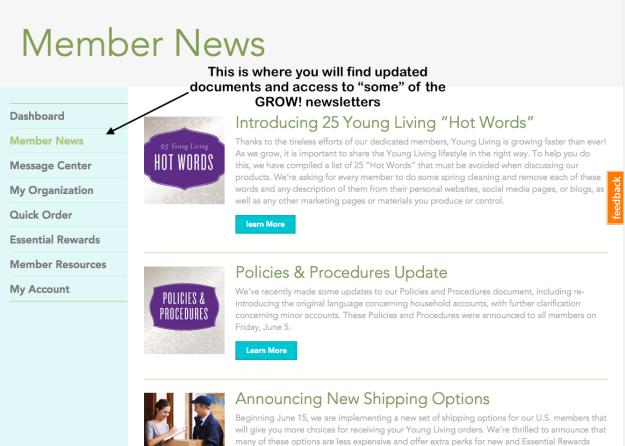 MemberNews