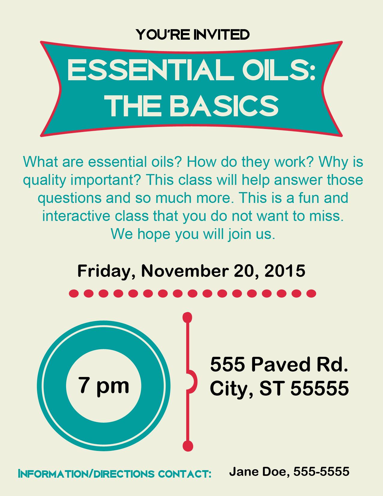 Invitations | The Oil Posse