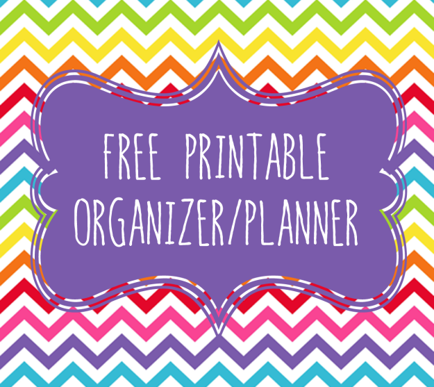 annual organizer planner printable the oil posse