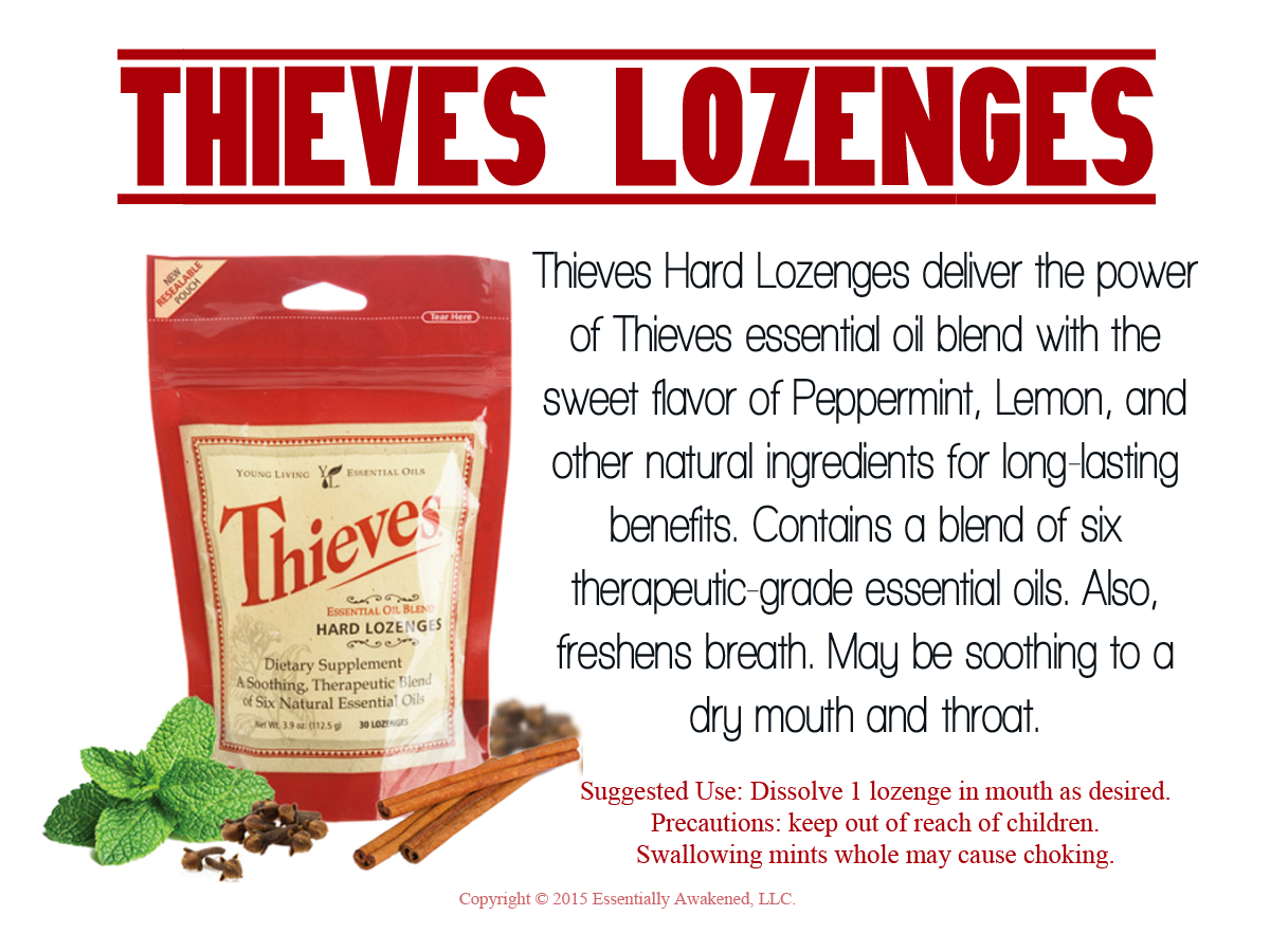 New Card: Thieves Hard Lozenges | The Oil Posse