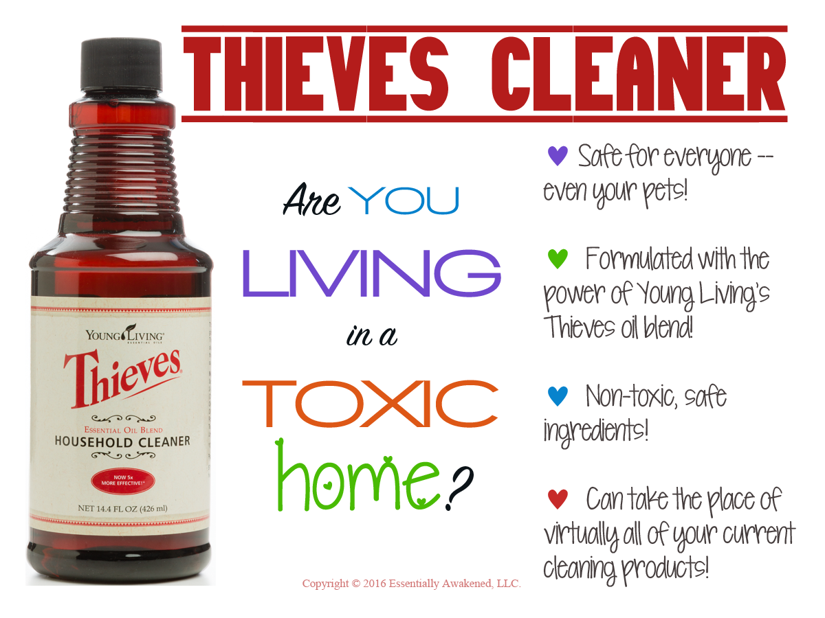 New Card: Thieves Household Cleaner | The Oil Posse