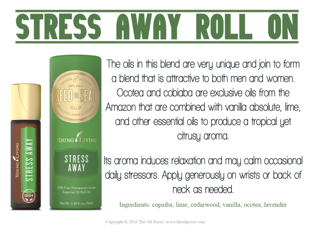 New Card Stress Away Roll On The Oil Posse