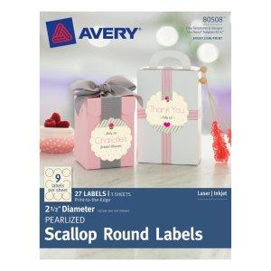 AveryScallopLabels80508