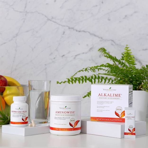 Super Cal Plus, AminoWise, AlkaLime Young Living