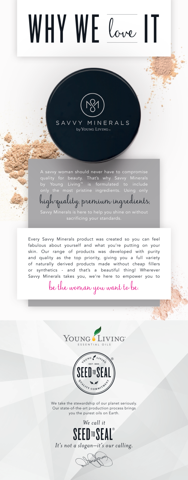 Savvy Minerals Why We Love it